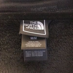The North Face Jackets & Coats - The North Face Fuzzy Black Zip Up Jacket
